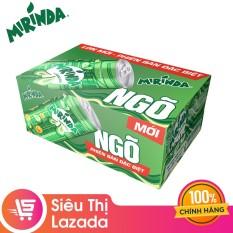 """Thùng 24 Lon Nước Giải Khát Có Gaz Mirinda Vị Soda Kem phiên bản """"NGÕ"""" đặc biệt (245ml/Lon)"""