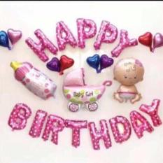 Set trang trí thôi nôi, sinh nhật cho bé trai và bé gái