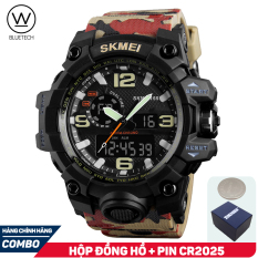 Đồng hồ nam SKMEI 1155 Thể Thao Điện Tử – Chạy 2 máy kim và điện tử