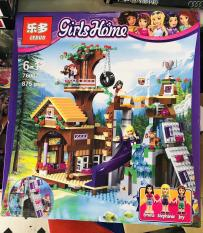 Bộ lego girl home biệt thự vui chơi của Emma (875 chi tiết)
