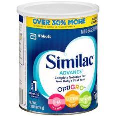 Sữa bột Similac Advance miễn dịch cho bé từ 0-12 tháng 873g của (DATE MOI)