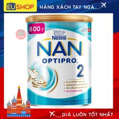 Sữa bột NAN Nga OPTIPRO ® – Hộp 800g – Số 02