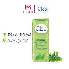 Gel làm dịu da sau tẩy lông Cléo giúp chậm mọc lông 50g – chiết xuất lá trà xanh thiên nhiên