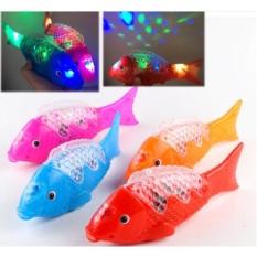 Lồng đèn cá chép có nhạc có đèn phát sáng