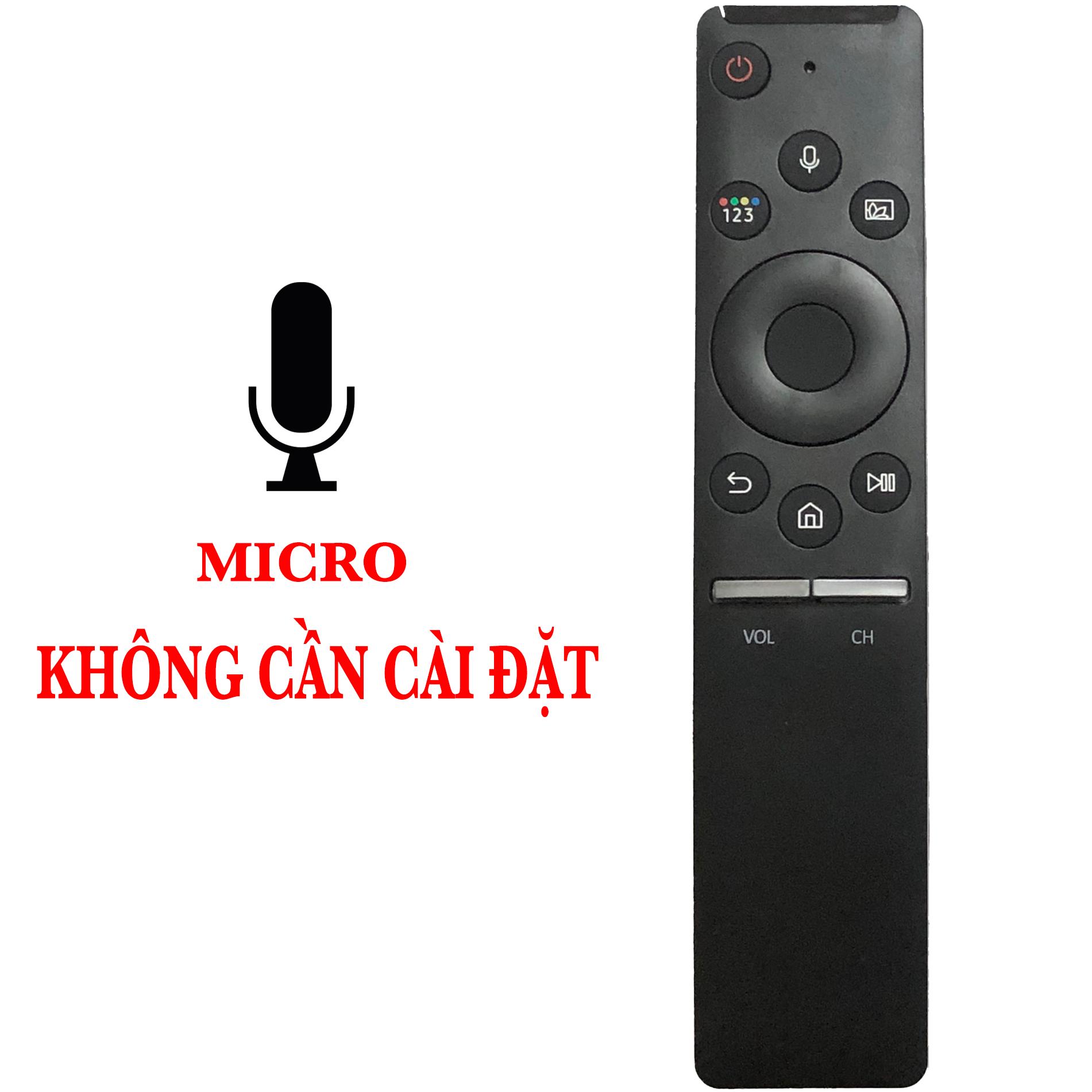 ĐIỀU KHIỂN TV SAMSUNG SMART MICRO CHÍNH HÃNG REMOTE TV SAMSUNG 4K SMART CÓ MIC GIỌNG NÓI