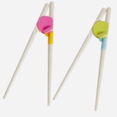 Đôi đũa tập ăn cho bé, chất liêu nhựa cao cấp an toàn cho trẻ em -GDGS,đũa tập ăn cho bé