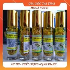 Dầu gió Thái Lan, Dầu lăn thảo dược hương sả(tốt cho người hay đau đầu) 8ml, Dầu Thái Lan