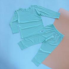 Quần áo trẻ em TANOSA bộ đồ cho bé từ 1 đến 6 tuổi set trang phục mặc nhà dài tay