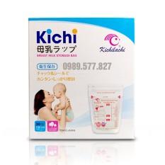 Túi trữ sữa 100ml Kichilachi hộp 30 túi