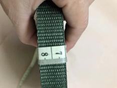 10 Mét Dây dù dẹp bản 2cm – Màu xanh rêu – dùng buộc hàng , giăng võng
