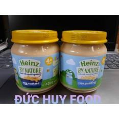 [Freeship+Voucher]Hũ ăn dặm dinh dưỡng Heinz Anh 120g(trứng sữa 4m+), cam kết hàng đúng mô tả, chất lượng đảm bảo, an toàn đến sức khỏe của trẻ