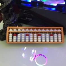Bàn tính gẩy Soroban 13 cột toán học tư duy đồ chơi phát triển trí tuệ IQ