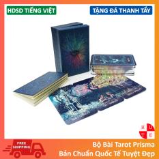 [Size Gốc] Bài Tarot Prisma 78 Lá 7×12 Cm Tặng Link Hướng Dẫn Tiếng Việt Và Đá Thanh Tẩy