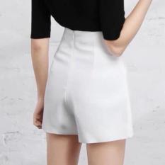Quần short nữ lưng cao – MIN Boutiques – Ảnh thật – vải tuyết mưa dày