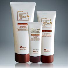 Bộ 3 sản phẩm kem chống nắng gel tẩy da chết body và mặt SKINFRAM