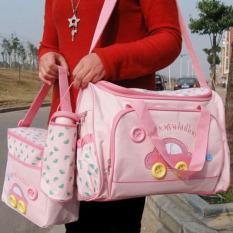 Túi nút oto đựng đồ cho mẹ và bé 4 chi tiết