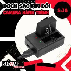 Dock sạc pin đôi dành cho camera hành trình SJCAM SJ8 – Hãng phân phối chính thức