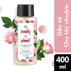 Dầu xả cho tóc nhuộm Love Beauty And Planet Blooming Colour 400ml