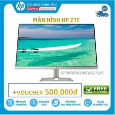 [Voucher 500k]-Màn hình HP 27f (27 Inch/FULLHD/75Hz/5Ms/IPS/3AL61AA) – Hàng Chính Hãng