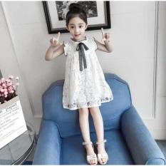 Váy ren điệu đà siêu xinh cho bé gái