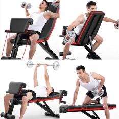 Ghế tập tạ đa năng, Máy tập cơ bụng, máy tập gym đa năng tại nhà, máy tập tạ đa chức năng – KIM STORE 89