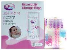 Hộp 50 Túi trữ sữa GB BABY an toàn cho bé