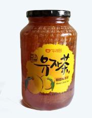 Mật ong chanh Hàn Quốc nhập khẩu lọ 1 kg-PP Sâm Yến Thái An