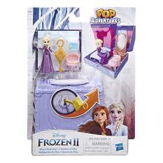 MYKINGDOM – DISNEY PRINCESS E6859/E6545 Bộ phòng chơi nổi 3D – Phòng ngủ của công chúa Elsa