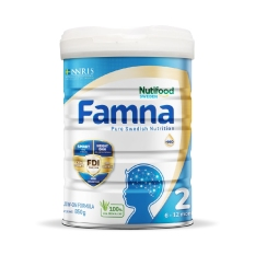 Sữa Famna Số 2 850g (6-12 tháng tuổi)