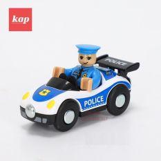 Các mẫu xe đồ chơi cảnh sát/ xe cẩu kéo/ xe công trình/ xe đưa thư/ phụ kiện đường ray xe lửa gỗ/