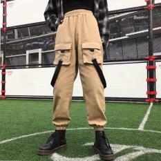 Quần ulzzang jogger kaki nam nữ mặc được giá rẻ phong cách túi hộp thời trang MILAN NA FASHION