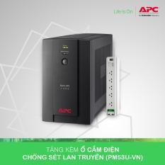 [Khuyến Mãi] – Bộ lưu điện: Back-UPS 1400VA, 230V, AVR, Universal and IEC Sockets – BX1400U-MS