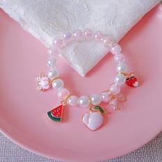Vòng, lắc tay cho bé gái hình con vật, trái cây, trà sữa.