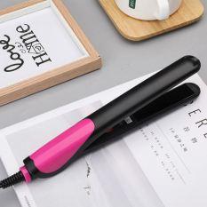 Máy duỗi tóc mini cầm tay đa năng, máy kẹp duỗi tóc kiêm máy uốn xoăn tóc, máy uốn tóc mini không làm tổn thương tóc có khóa bên trong an toàn sử dụng