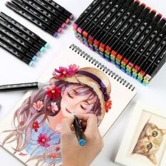 Bộ Bút Touch Mark 48 màu 2 đầu cao cấp (kèm túi vải)