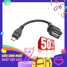 Cáp kết nối OTG V8 (Chuyển từ cổng MicroUSB to USB) (Đen)