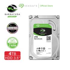 [Trả góp 0%]Ổ cứng HDD 3.5″ PC SEAGATE BarraCuda 4TB SATA 5400RPM 256MB – ST4000DM004
