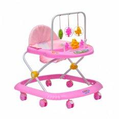 Xe tròn tập đi có nhạc, giá treo đồ chơi cho trẻ em Song Long