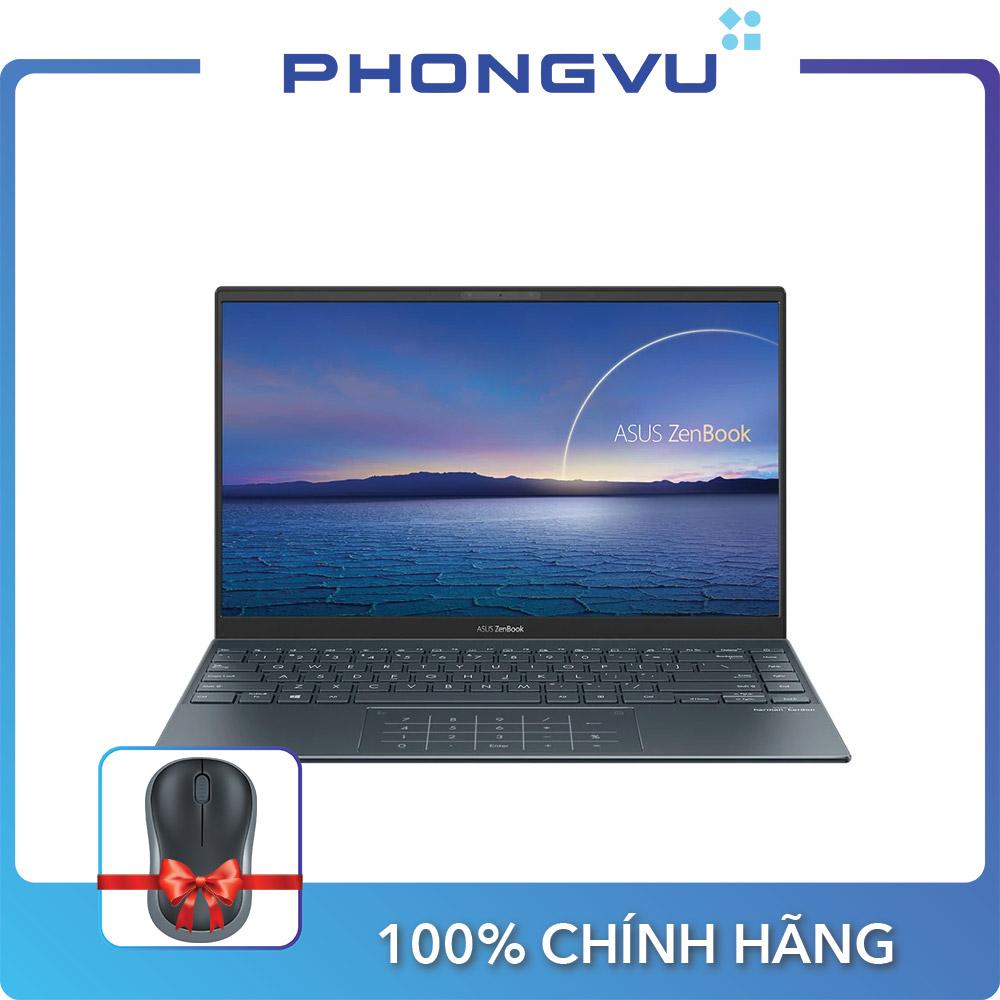 [TẶNG CHUỘT KHÔNG DÂY LOGITECH] - Laptop ASUS UX425EA-KI429T 90NB0SM1-M09060 ( 14