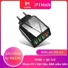 Củ Sạc Nhanh Piman Chuẩn Quick Charge 3.0 18W – Củ sạc tích hợp mọi loại thiết bị và điện thoại P211