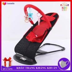 Ghế Rung Nhún Cao Cấp cho bé, Thiết kế khung thép dẻo chắc chắn an toàn cho bé Tải trọng lên đến 15kg