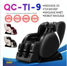 GHẾ MASSAGE QUEEN CROWN QC-T1-9S 3D