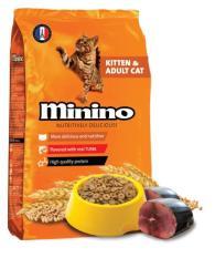 Thức Ăn Cho Mèo Mọi Lứa Tuổi Minino Tuna 480gam