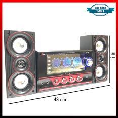 Dàn Âm Thanh Karaoke Đa Năng Kết Nối Tivi – Máy Tính – Điện thoại – Dàn loa Isky Sk-385 Lựa chọn của mọi gia đình ( Khuyến Mại 2 Micro Chuyên Thử loa )