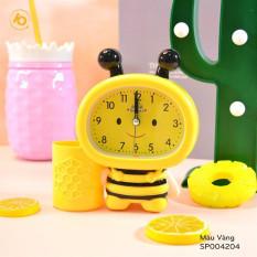 Đồng hồ báo thức cho bé, kiểu đồng hồ để bàn báo thức chuông kêu to, hình độc đáo dễ thương tặng kèm pin
