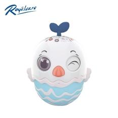 ☎☊▤ Đồ chơi lật đật cho bé hình quả trứng dễ thương kêu leng keng Royalcare 0820-RC-822-222 – đồ decor trang trí phòng bé