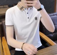 Bộ 3 áo thun nam body cổ bẻ vải dày mịn thoáng mát phong cách Hàn quốc