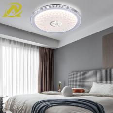 Mẫu đèn led ốp trần mới hình tròn hiệu ứng sao sáng trang trí phòng làm việc, phòng ngủ, phòng ăn 3 chế độ màu 48W- 9006