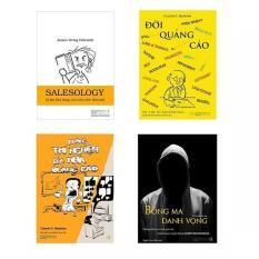 Combo Bí kíp Quảng cáo Bán hàng (Salesology – Đời quảng cáo – Bóng ma danh vọng – Phòng thí nghiệm của nhà quảng cáo)