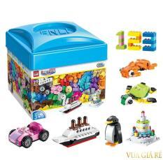 Bộ Đồ Chơi Xếp Hình LEGO EnLi 460pcs
